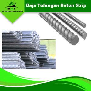 baja tulangan beton strip